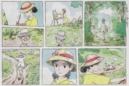 Ghibli Kaze Tachinu - manga 1