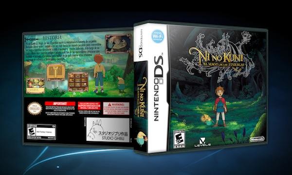 Ghibli Videojuegos - ni no kuni boxart