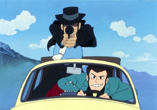 Ghibli Lupin - captura cagliostro