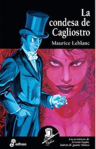 Ghibli Lupin - portada novela La condesa de Cagliostro