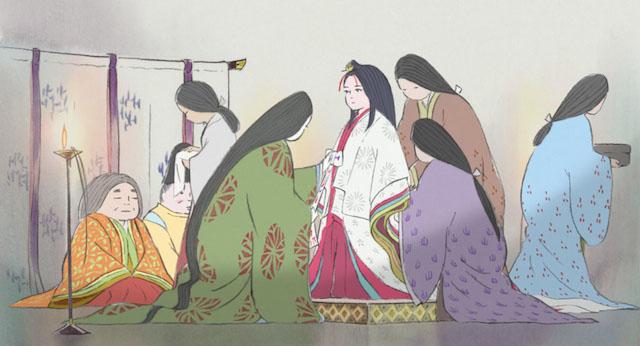 La joven y bella Kaguya