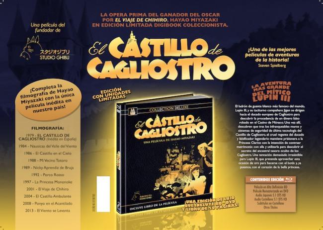Edición Deluxe El castillo de Cagliostro