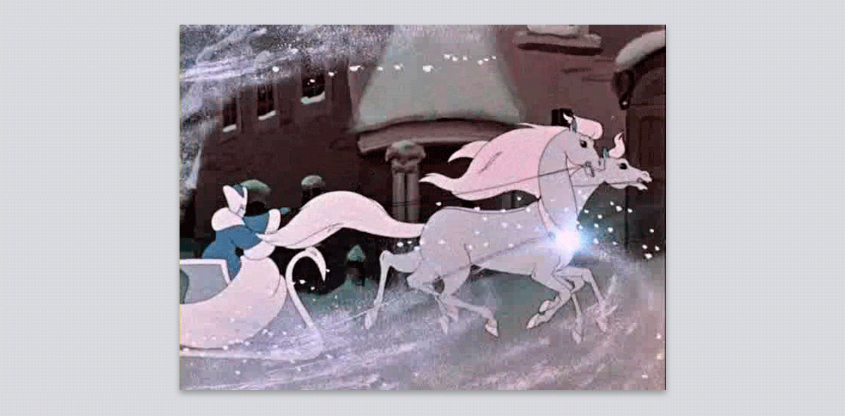 La reina de las nieves.